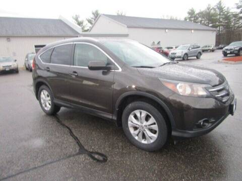 2013 Honda CR-V for sale at BELKNAP SUBARU in Tilton NH