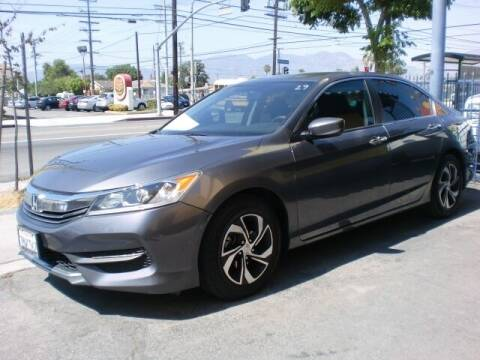 2016 Honda Accord for sale at Williams Auto Mart Inc in Pacoima CA
