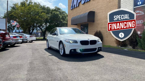 2014 BMW 5 Series for sale at Auto Imports in Houston TX