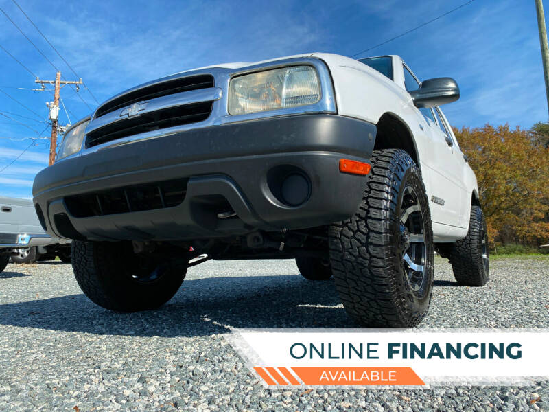 2004 Chevrolet Tracker for sale at Prime One Inc in Walkertown NC
