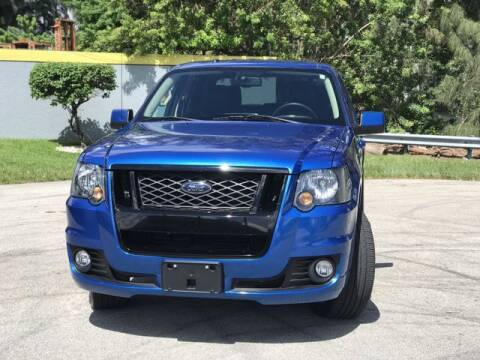 2010 Ford Explorer Sport Trac for sale at Exclusive Impex Inc in Davie FL