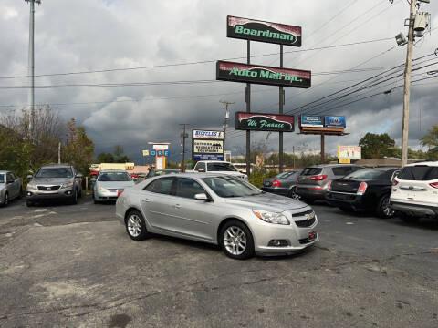 2013 Chevrolet Malibu for sale at Boardman Auto Mall in Boardman OH