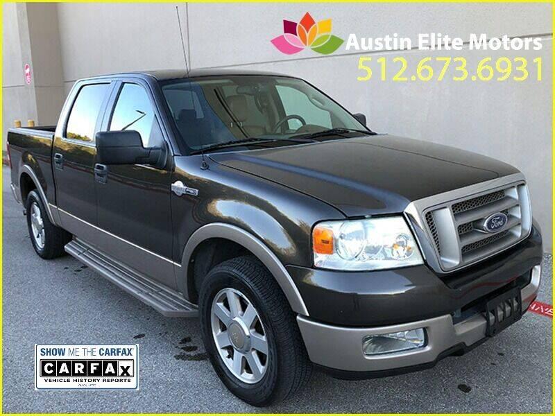 2005 Ford F-150 for sale at Austin Elite Motors in Austin TX