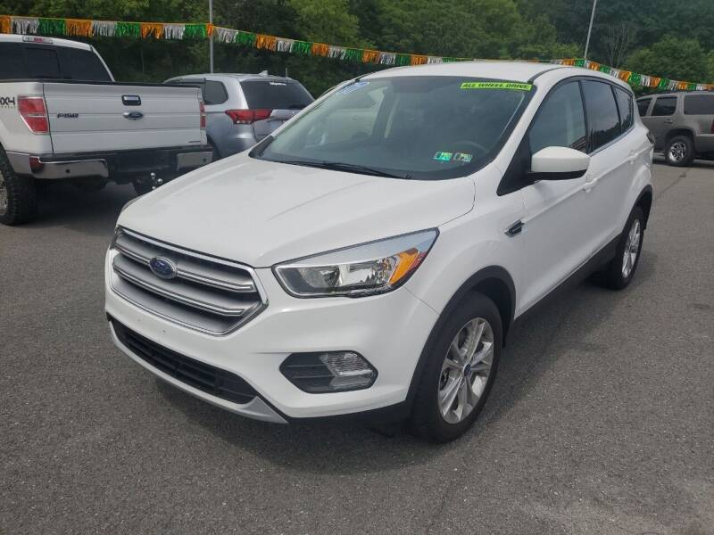 2017 Ford Escape for sale at Mulligan's Auto Exchange LLC in Paxinos PA