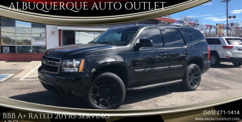 2007 Chevrolet Tahoe for sale at ALBUQUERQUE AUTO OUTLET in Albuquerque NM