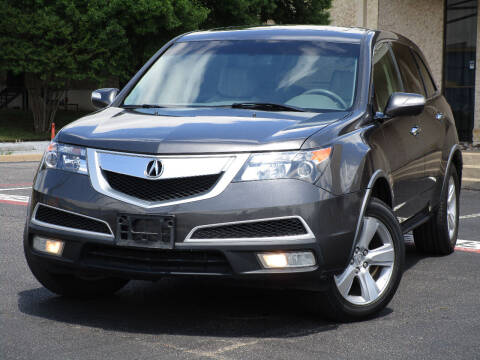 2010 Acura MDX for sale at Ritz Auto Group in Dallas TX