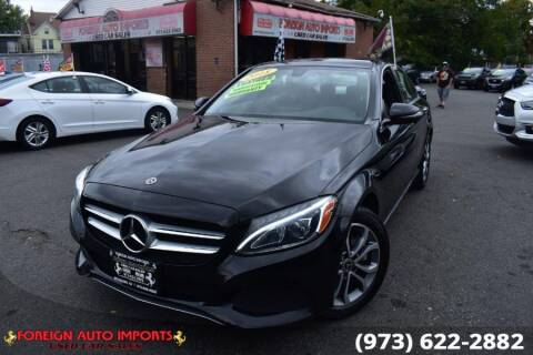 2018 Mercedes-Benz C-Class for sale at www.onlycarsnj.net in Irvington NJ