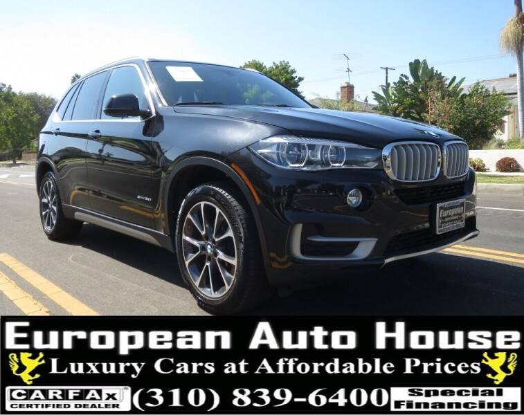2017 BMW X5 for sale at European Auto House in Los Angeles CA