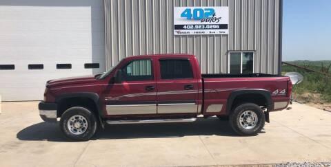 2005 Chevrolet Silverado 2500HD for sale at 402 Autos in Lindsay NE