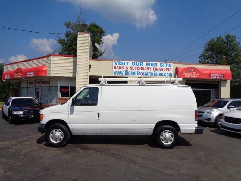2007 Ford E-Series Cargo for sale at Bickel Bros Auto Sales, Inc in Louisville KY