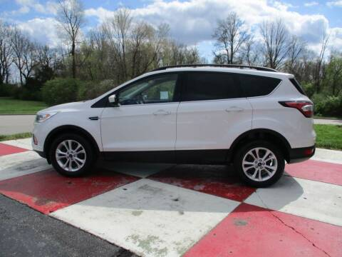 2017 Ford Escape for sale at TEAM ANDERSON AUTO GROUP INC in Richmond IN