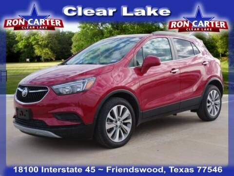 2020 Buick Encore for sale at Ron Carter  Clear Lake Used Cars in Houston TX