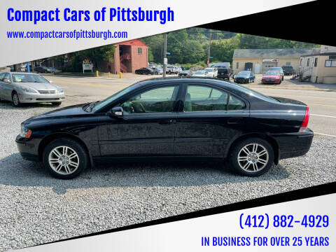 2008 Volvo S60 for sale at Compact Cars of Pittsburgh in Pittsburgh PA