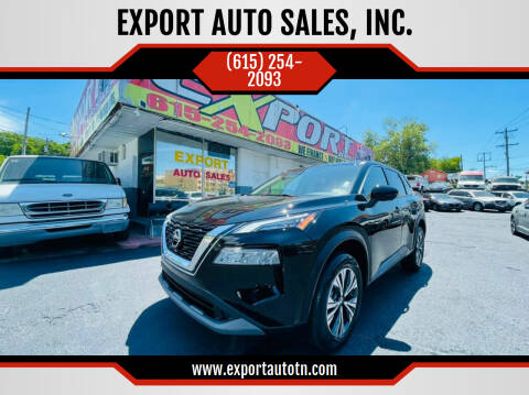 2021 Nissan Rogue for sale at EXPORT AUTO SALES, INC. in Nashville TN