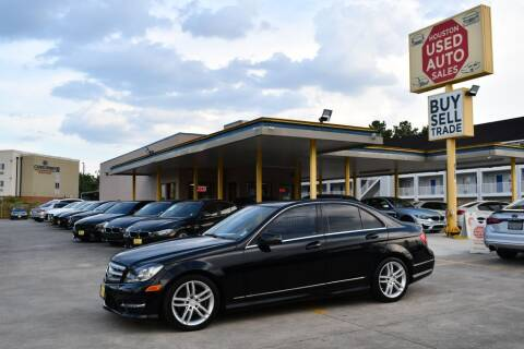 2013 Mercedes-Benz C-Class for sale at Houston Used Auto Sales in Houston TX