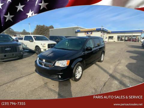 2019 Dodge Grand Caravan for sale at Paris Auto Sales & Service in Big Rapids MI