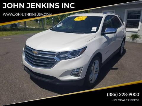2019 Chevrolet Equinox for sale at JOHN JENKINS INC in Palatka FL