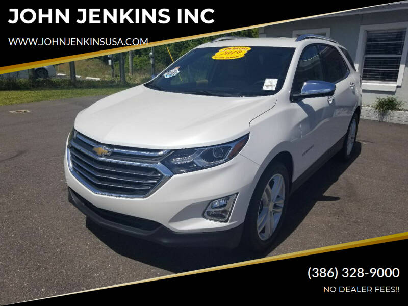 2019 Chevrolet Equinox for sale at JOHN JENKINS INC in Palatka FL