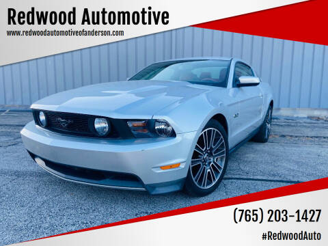 2012 Ford Mustang for sale at Redwood Automotive in Anderson IN