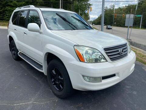2008 Lexus GX 470 for sale at Route 4 Motors INC in Epsom NH
