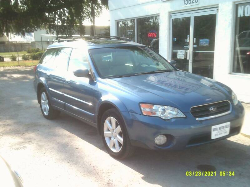 2007 Subaru Outback for sale at ROYAL MOTOR SALES LLC in Dover FL
