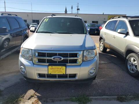 2011 Ford Escape for sale at Brothers Used Cars Inc in Sioux City IA