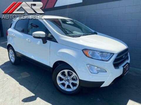 2019 Ford EcoSport for sale at Auto Republic Fullerton in Fullerton CA