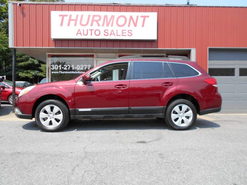 2011 Subaru Outback for sale at THURMONT AUTO SALES in Thurmont MD