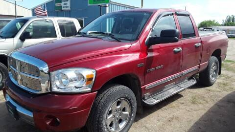 2007 Dodge Ram Pickup 1500 for sale at Halvorson Auto in New Rockford ND