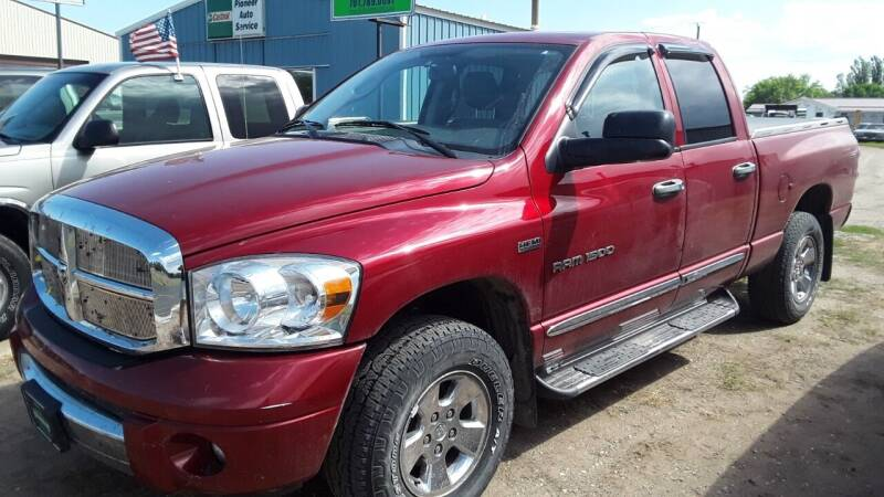 2007 Dodge Ram Pickup 1500 for sale at HALVORSON AUTO in Cooperstown ND