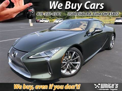 2021 Lexus LC 500 for sale at White's Honda Toyota of Lima in Lima OH