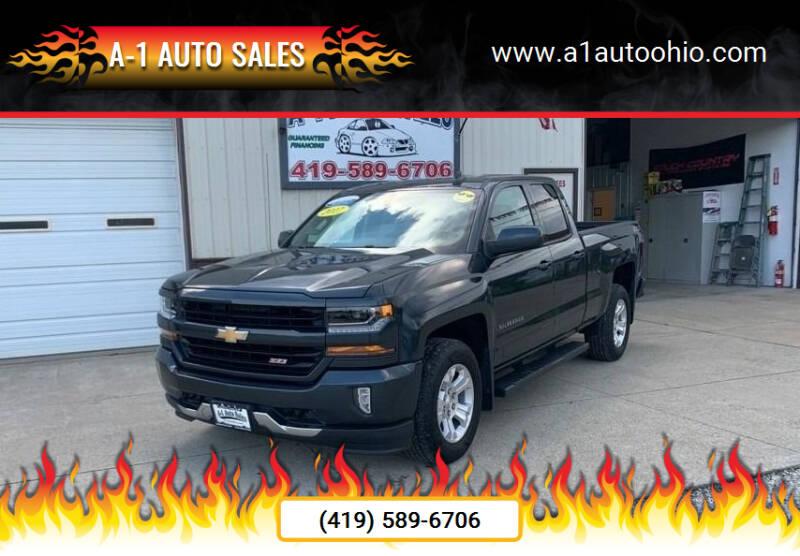 2017 Chevrolet Silverado 1500 for sale at A-1 AUTO SALES in Mansfield OH