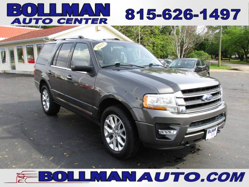 2017 Ford Expedition for sale at Bollman Auto Center in Rock Falls IL