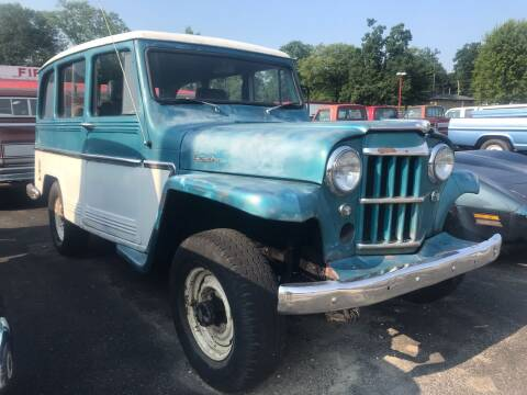 1963 Willys Wagon for sale at FIREBALL MOTORS LLC in Lowellville OH