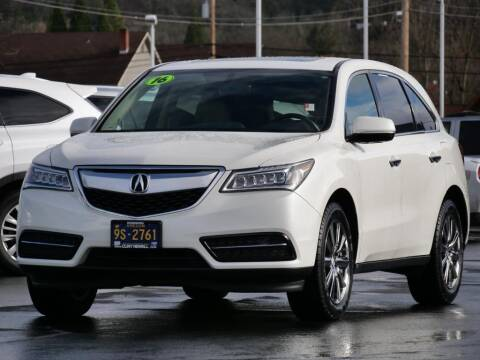 2016 Acura MDX for sale at CLINT NEWELL USED CARS in Roseburg OR