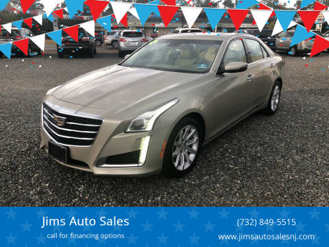 2015 Cadillac CTS for sale at Jims Auto Sales in Lakehurst NJ