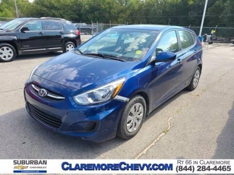 2016 Hyundai Accent for sale at Suburban Chevrolet in Claremore OK