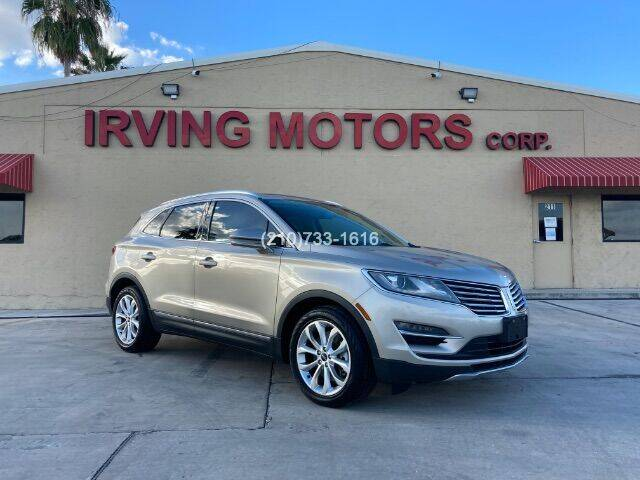 2015 Lincoln MKC for sale at Irving Motors Corp in San Antonio TX
