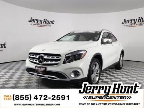 2018 Mercedes-Benz GLA for sale at Jerry Hunt Supercenter in Lexington NC