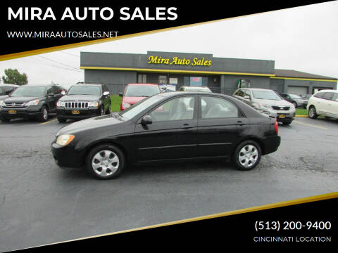2006 Kia Spectra for sale at MIRA AUTO SALES in Cincinnati OH