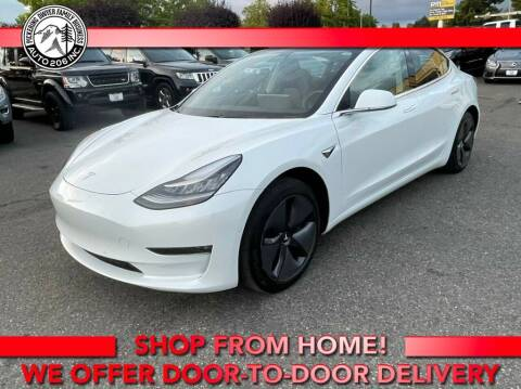 2018 Tesla Model 3 for sale at Auto 206, Inc. in Kent WA