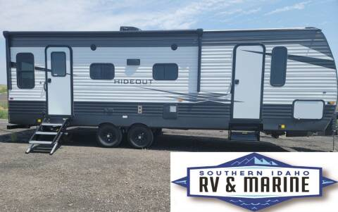 2021 KEYSTONE HIDEOUT 253RL for sale at SOUTHERN IDAHO RV AND MARINE - New Trailers in Jerome ID