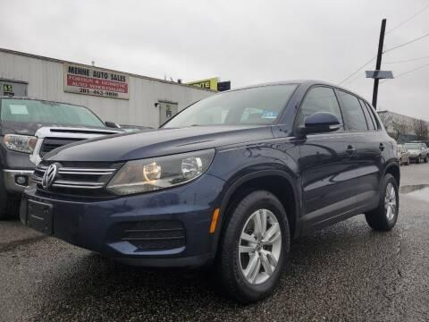 2013 Volkswagen Tiguan for sale at MENNE AUTO SALES in Hasbrouck Heights NJ