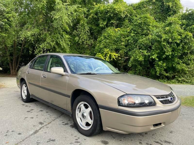 2003 Chevrolet Impala for sale at Pristine AutoPlex in Burlington NC