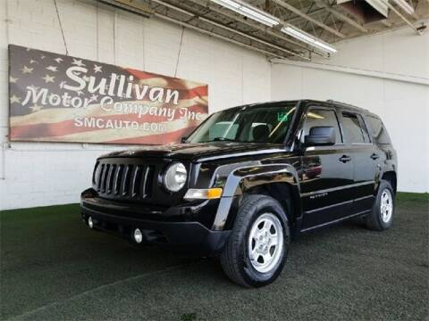 2014 Jeep Patriot for sale at SULLIVAN MOTOR COMPANY INC. in Mesa AZ