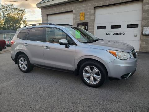 2014 Subaru Forester for sale at CHIP'S SERVICE CENTER in Portland ME