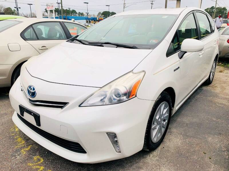 2014 Toyota Prius v for sale at Auto Space LLC in Norfolk VA