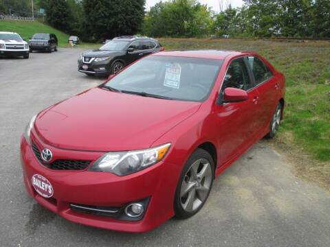 2013 Toyota Camry for sale at Percy Bailey Auto Sales Inc in Gardiner ME