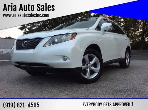 2011 Lexus RX 350 for sale at ARIA  AUTO  SALES in Raleigh NC