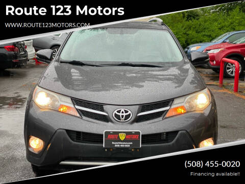 2013 Toyota RAV4 for sale at Route 123 Motors in Norton MA